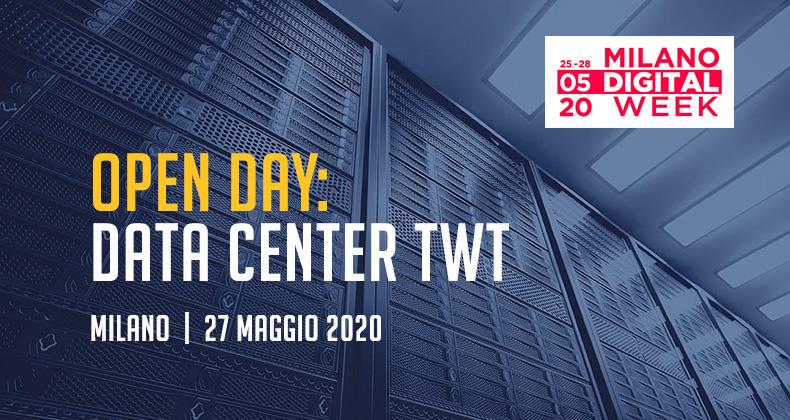 open day data center twt milano digital week